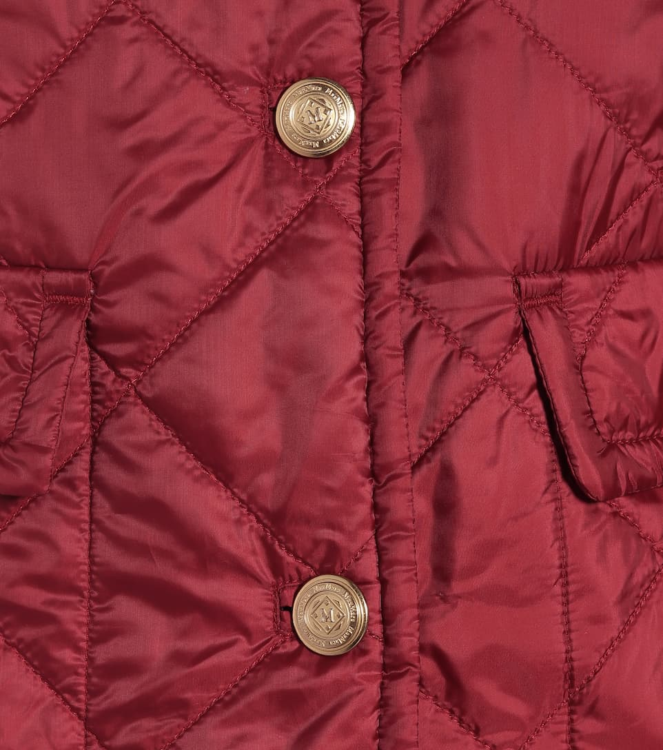 Max Mara - The Cube Greenci quilted jacket
