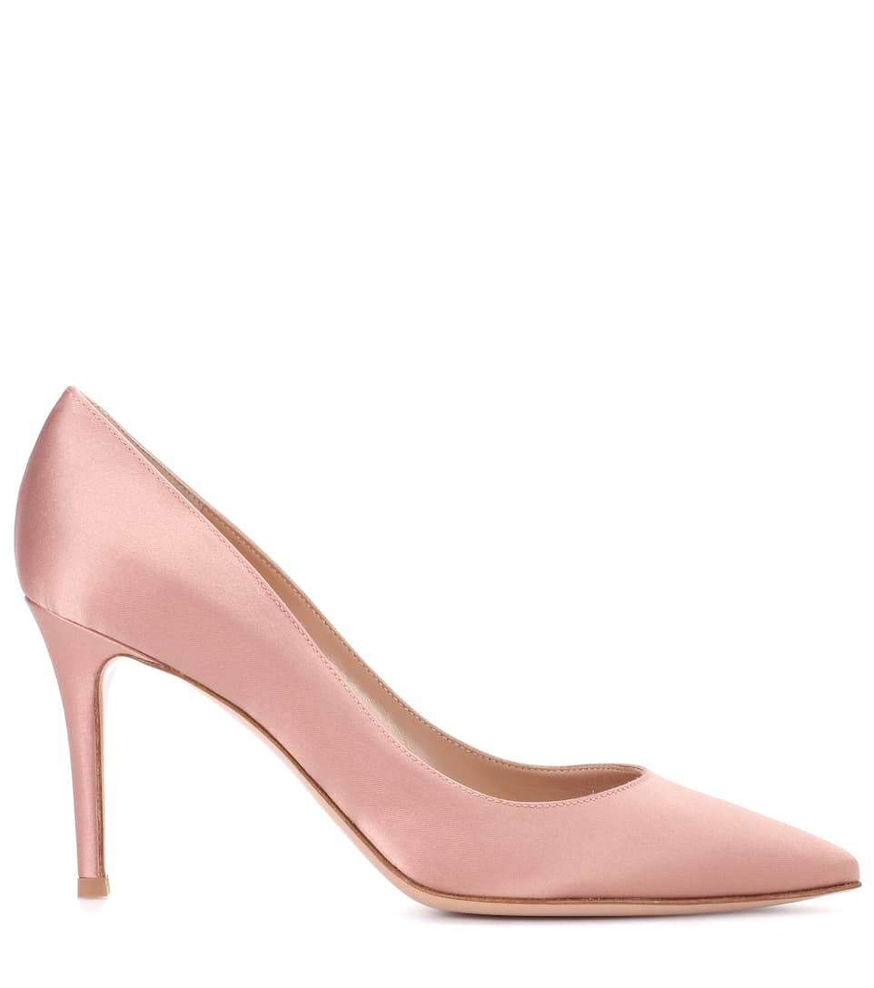 Gianvito Rossi Pumps Gianvito 85 aus Satin