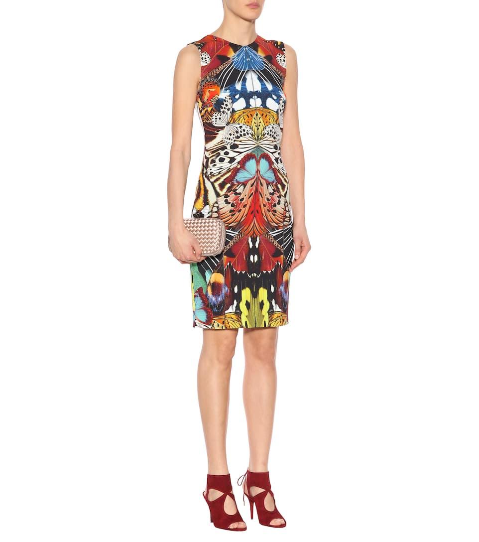 Großer Rabatt Roberto Cavalli Bedrucktes Minikleid Günstig Kaufen Empfehlen Für Billig Zu Verkaufen mrwGJab