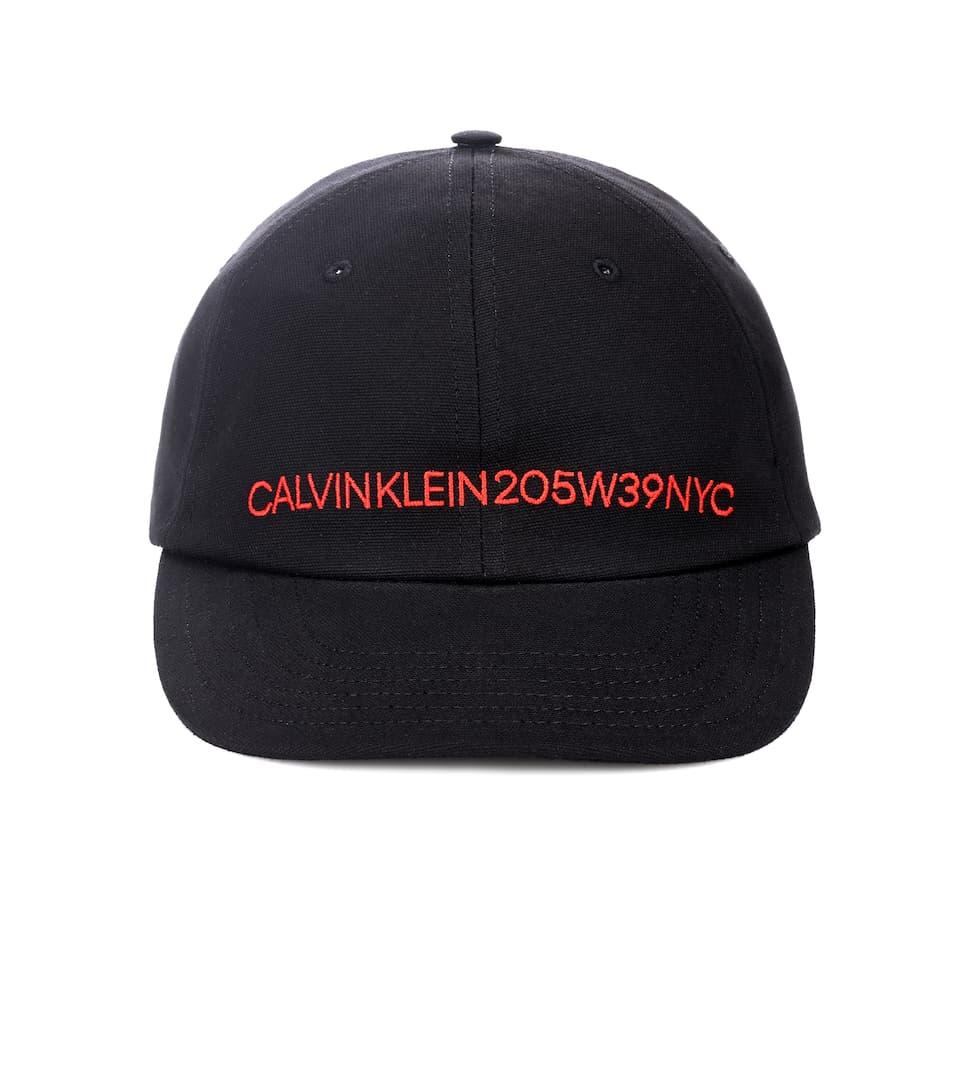 78bbfe64a36 Embroidered Cotton Hat - Calvin Klein 205W39NYC
