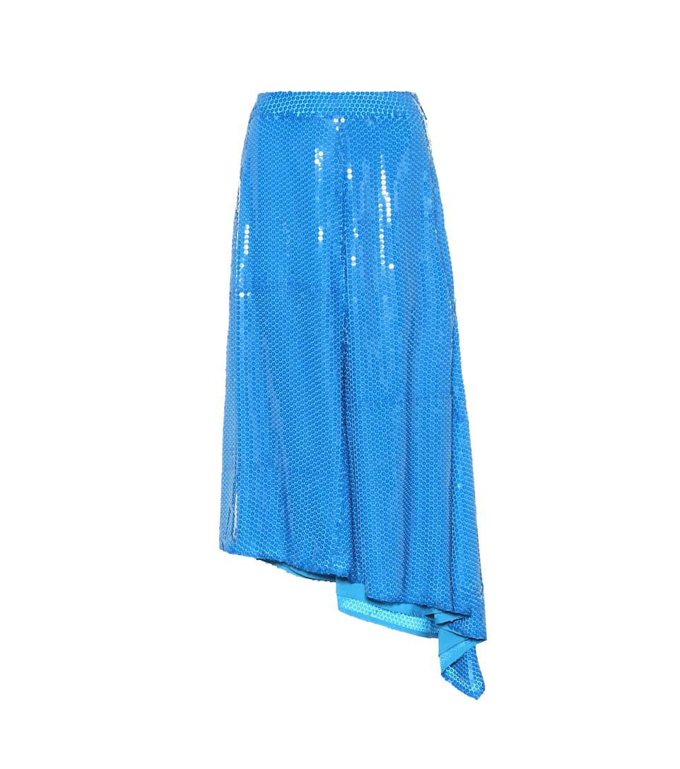 The Cheapest Online MSGM Sequinned skirt Blue Buy Cheap Huge Surprise Find Great Cheap Price Low Price Fee Shipping KswKT89H