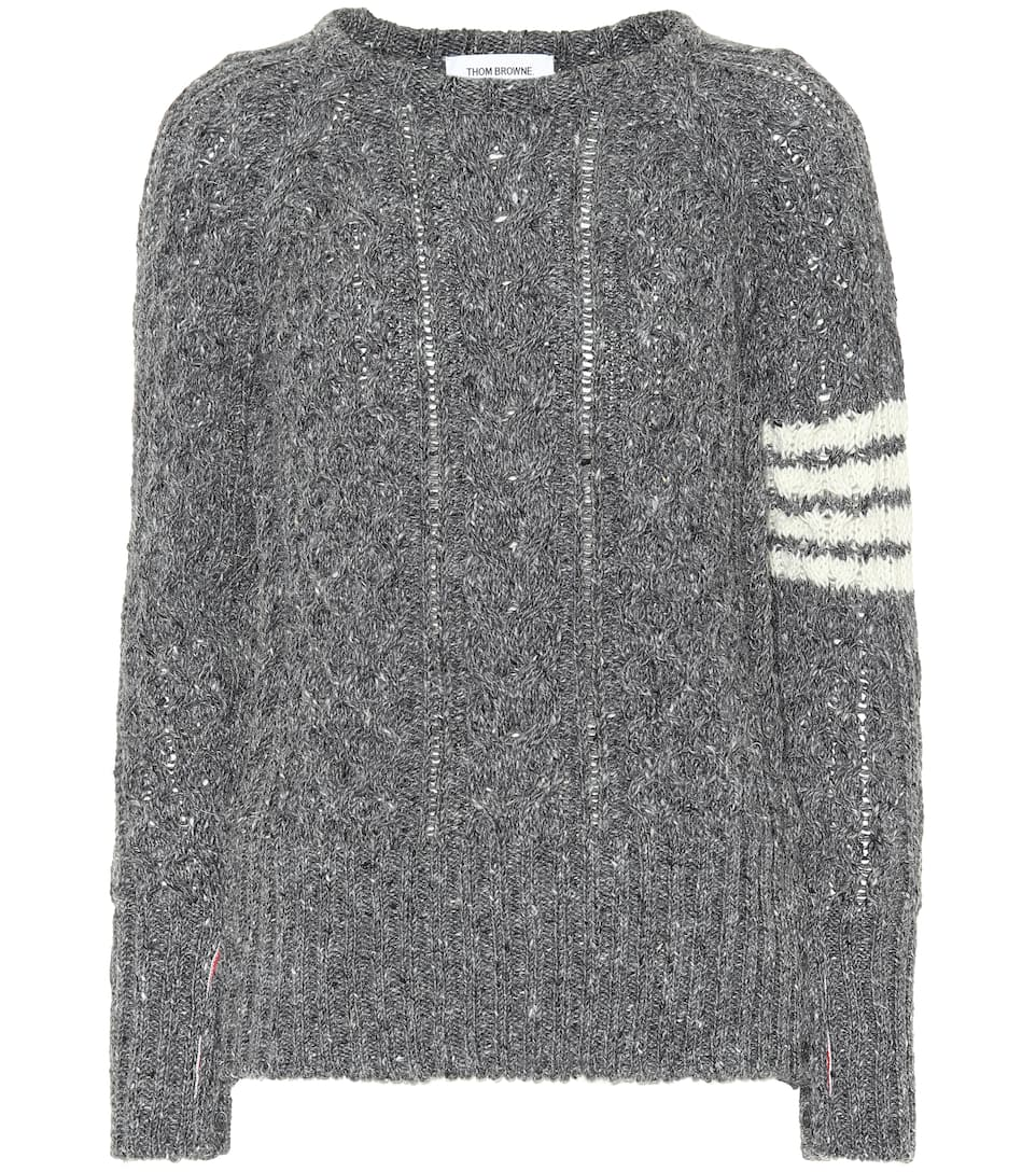 Pullover Thom Browne E Lana Mohair In YPAxqv