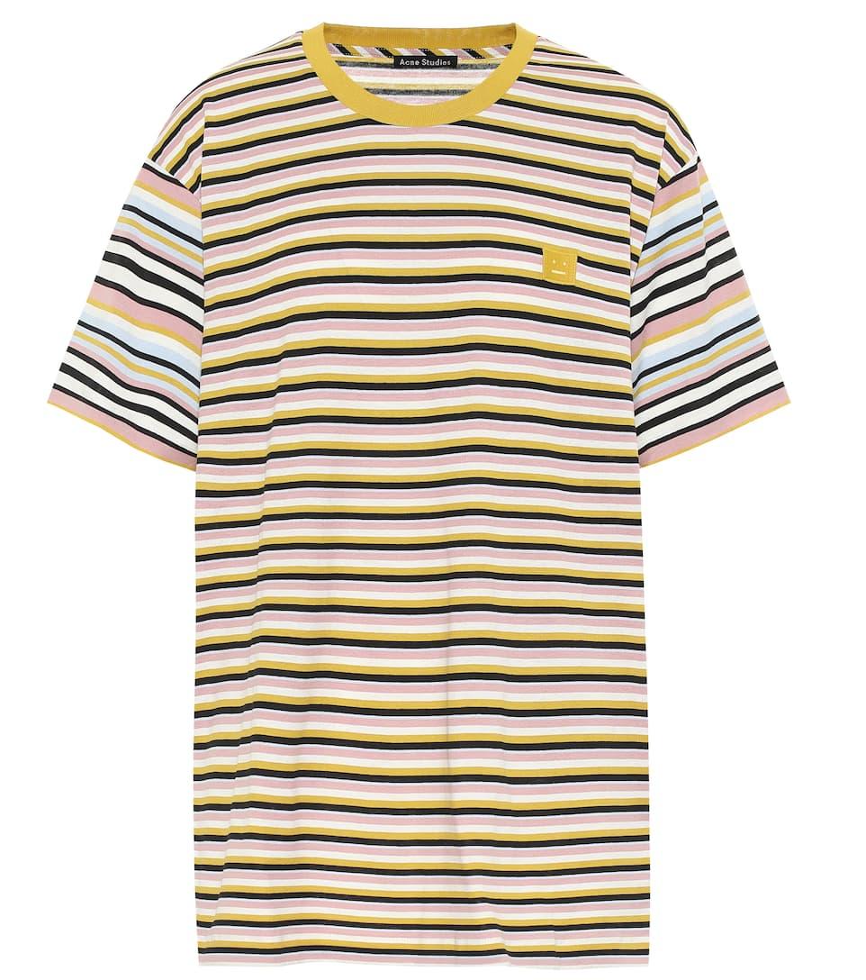 StudiosN° T En Rayé Coton Acne Artnbsp;p00394009 shirt TlFJcK1