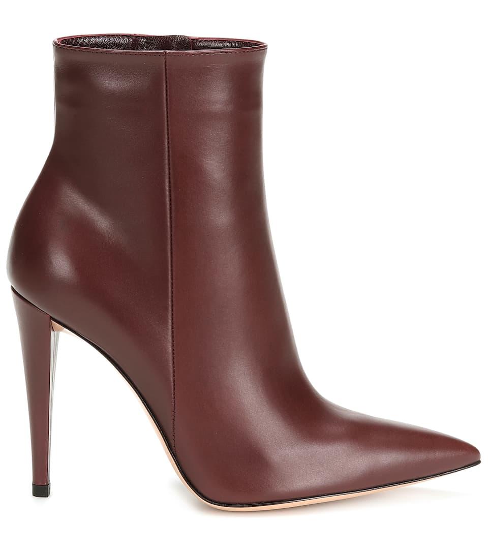 Ankle Scarlet nrnbsp;p00398358 Leder RossiArt Aus Gianvito Boots jLA534R