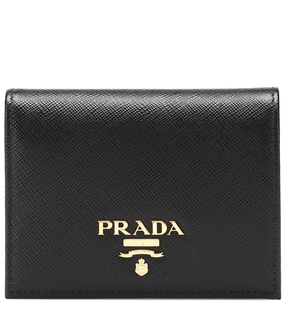 fc675452dce6e9 Prada - Leather wallet | Mytheresa