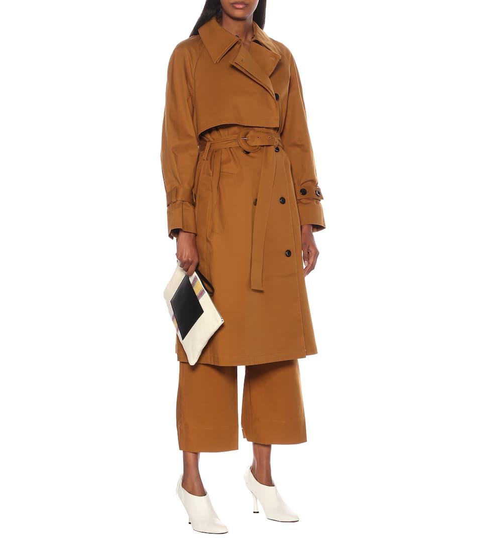 Proenza Schouler - Stretch-cotton trench coat
