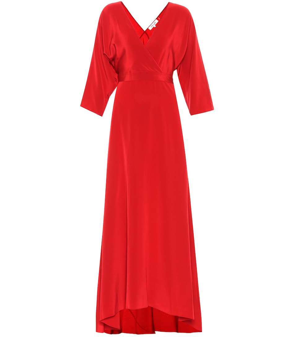 Silk Crêpe Wrap Dress by Diane Von Furstenberg