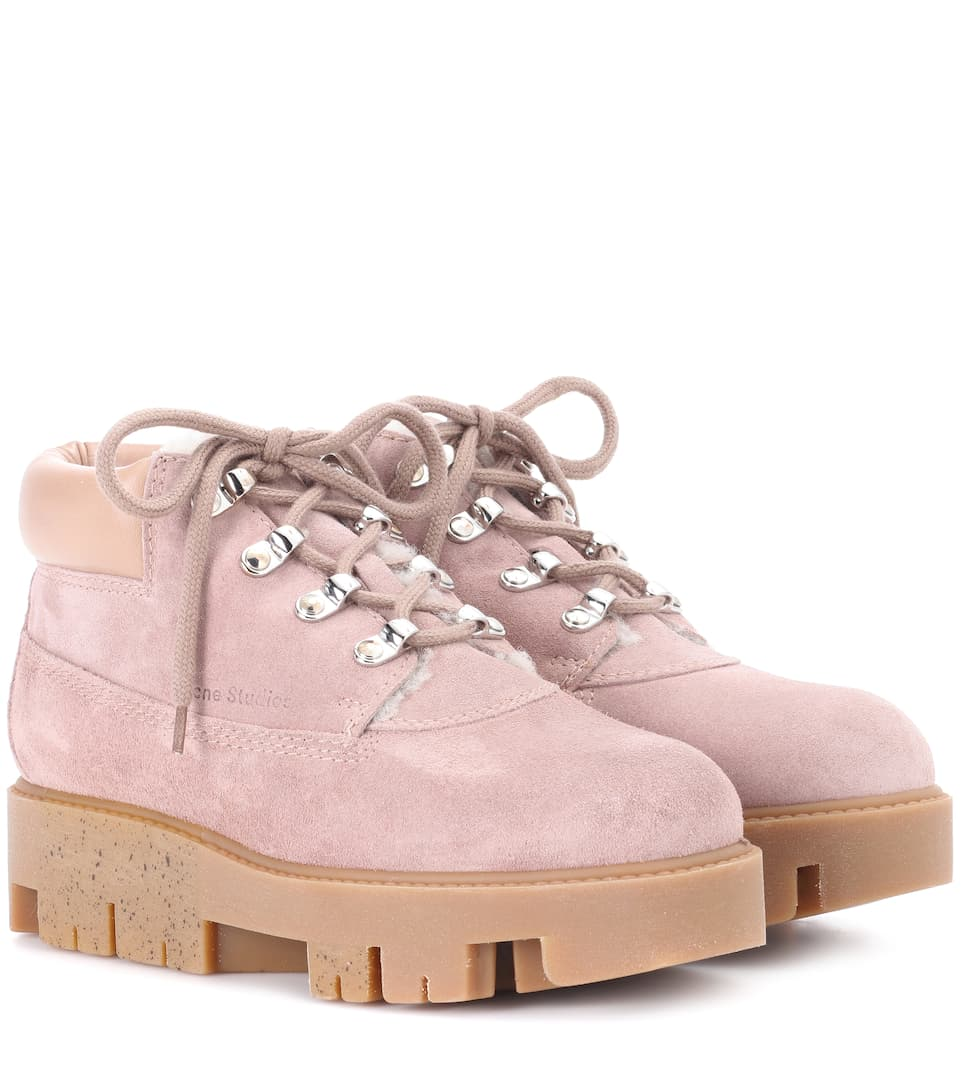Exclusive To Mytheresa.Com - Tinne She Suede Ankle Boots, Pink