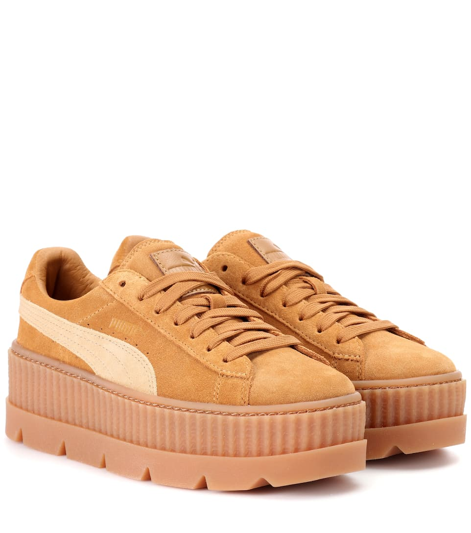 outlet store 264d5 62b9c Cleated Creeper Suede Sneakers | Fenty by Rihanna ...