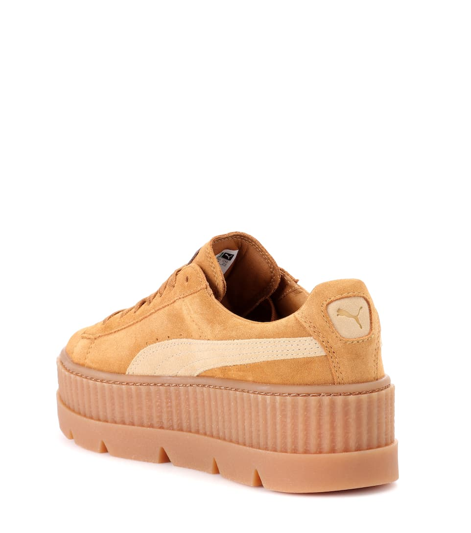 half off 56c35 030dd Cleated Creeper Suede Sneakers | Fenty by Rihanna - mytheresa