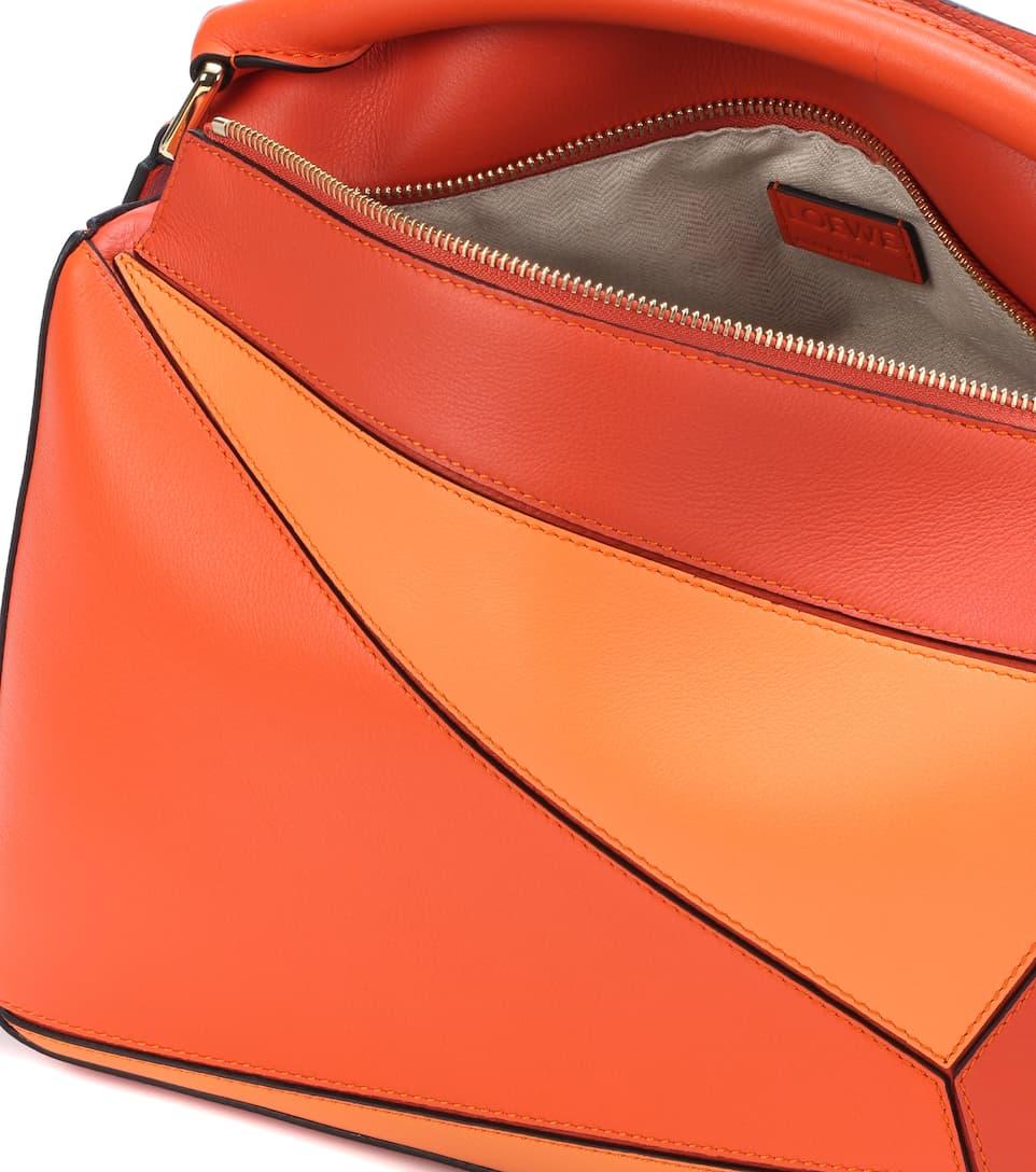 Loewe Shoulder Bag Puzzle Of Leather