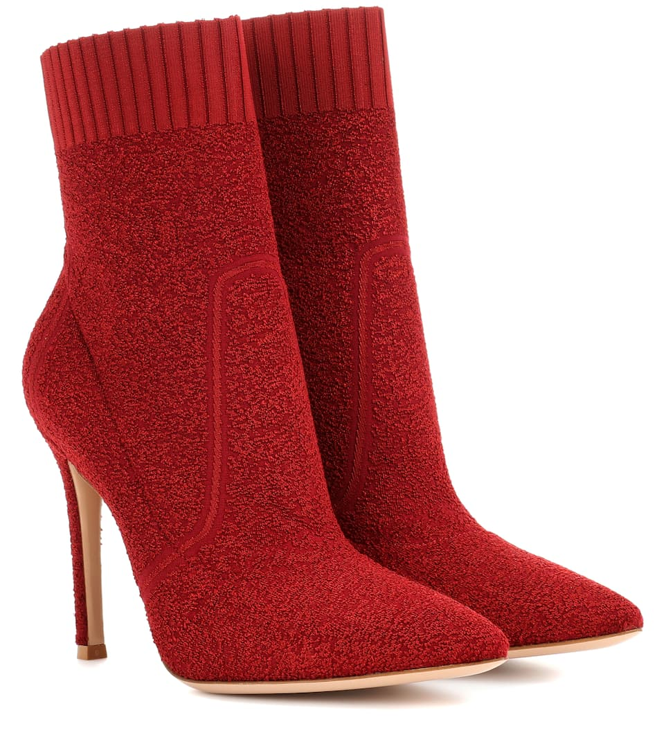 Gianvito Rossi Ankle Boots Fiona 105