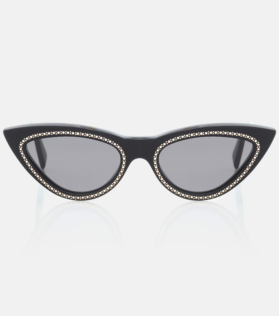 3f65500a344 Embellished Cat-Eye Sunglasses