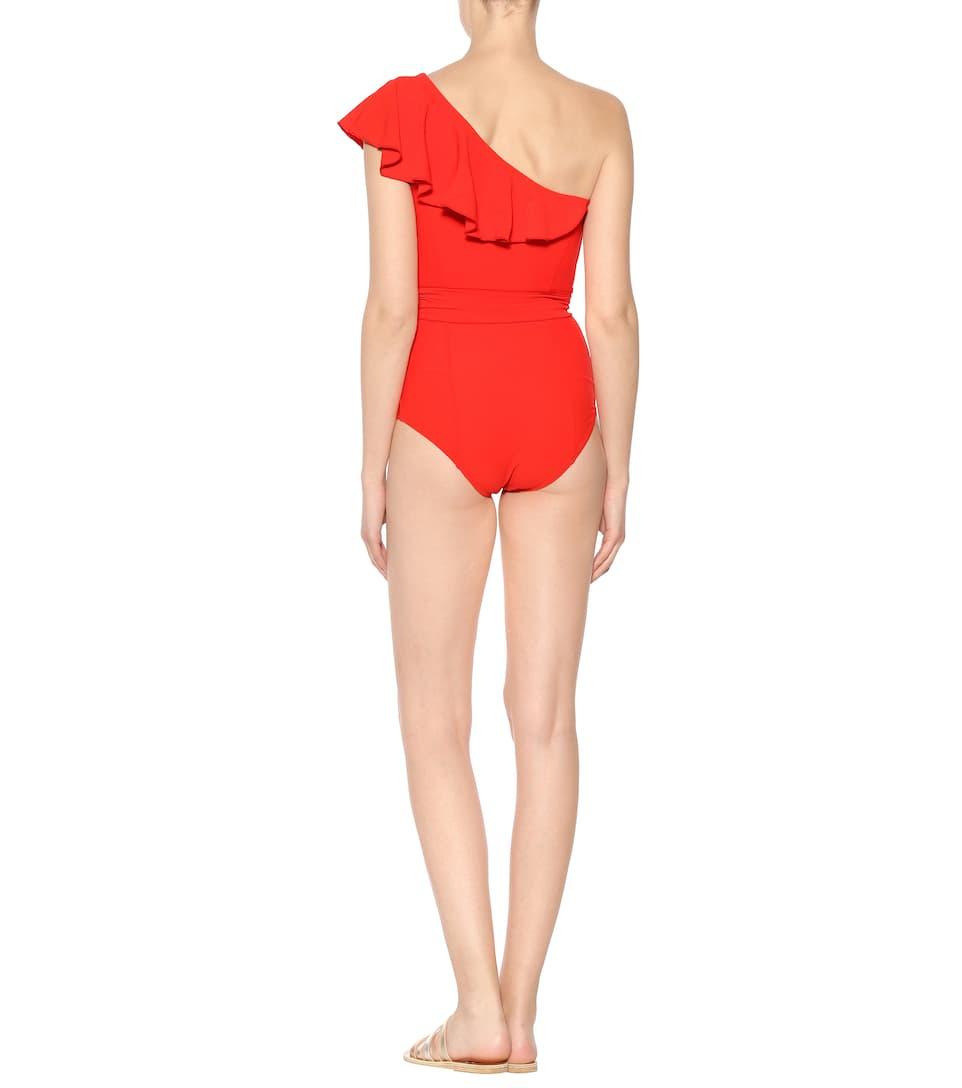 Lisa Marie Fernandez One-Shoulder-Badeanzug Arden Beliebte Online-Verkauf Ds5mf