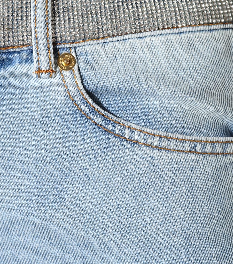Alexandre alto cielo jeans de talle Vauthier adornados rRW0q1nHr
