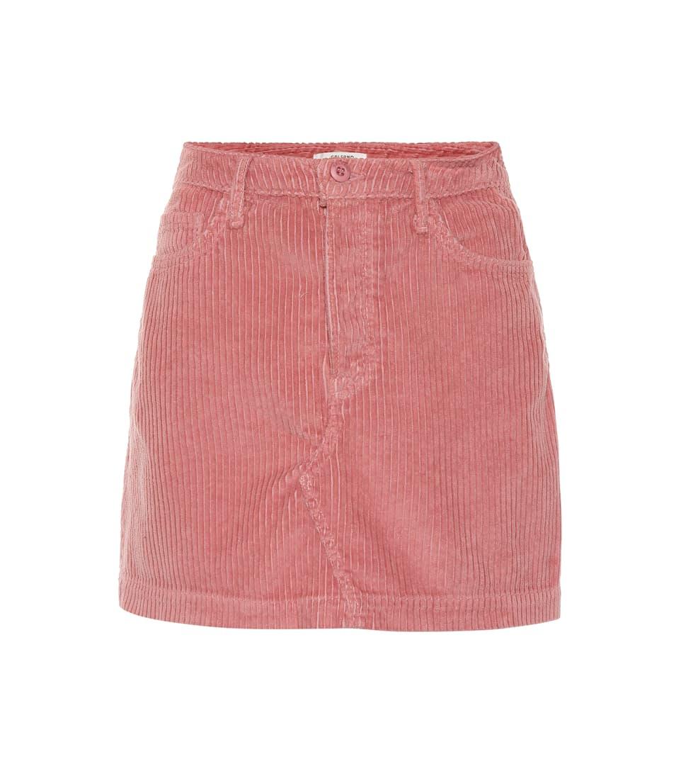 620f074975 Grlfrnd - Zamira corduroy miniskirt | Mytheresa