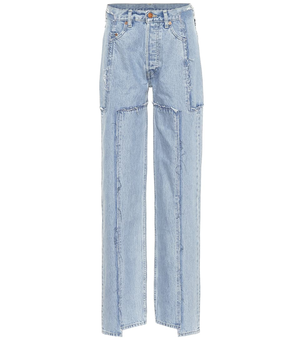 1c5d825d375e High-Waisted Jeans - Vetements