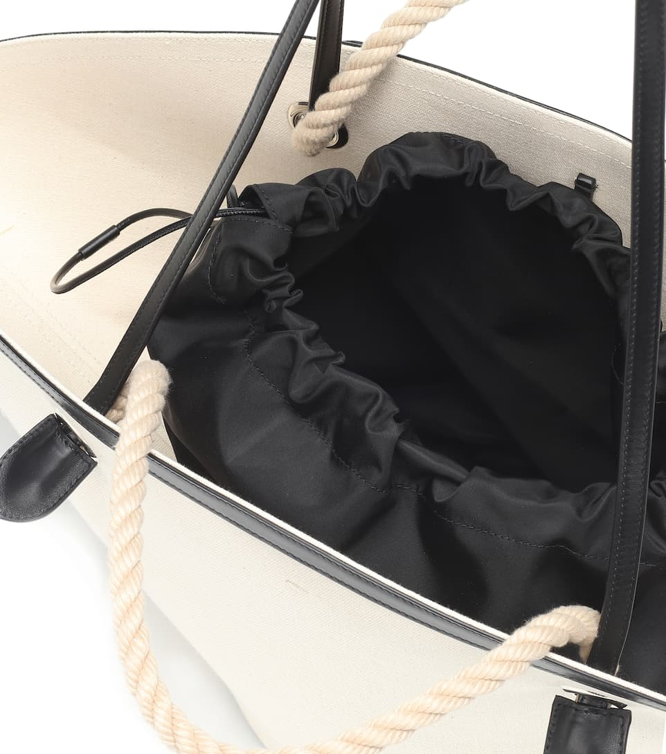 Sombrero Cuir Jil Sander Medium Exclusivité – Cabas Mytheresa Et Lin En POXZkuTi