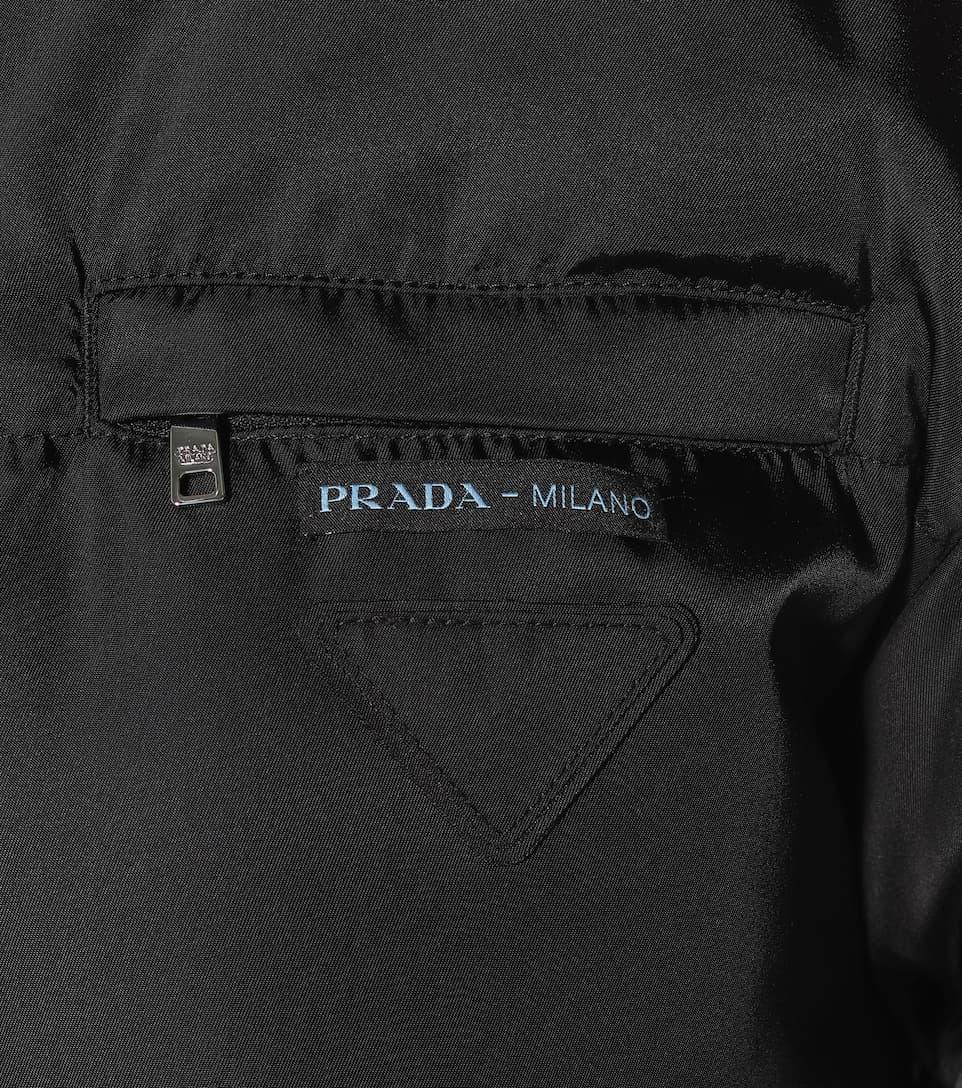 Down Puffer Coat Prada