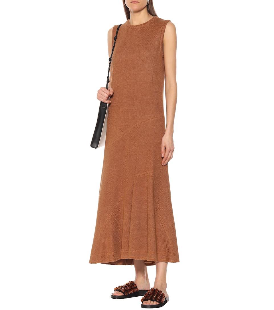 Jil Sander - Linen-blend dress