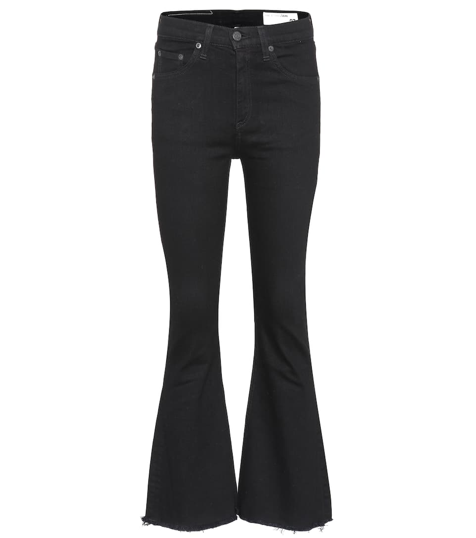 Rag & Bone Crop Flared Jeans