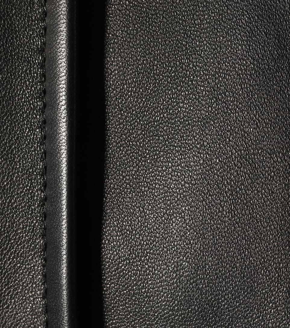 Balenciaga Hemd aus Leder