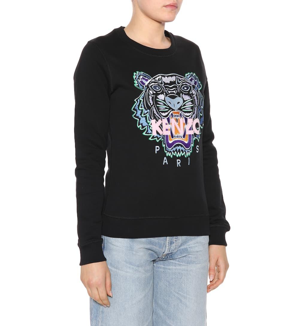 Kenzo Logo-Sweatshirt aus Baumwolle