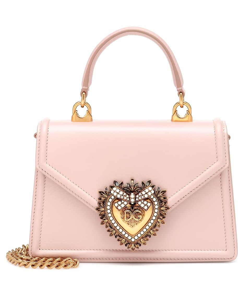 Pelle Dolceamp; Borsa In Gabbana Small Devotion shQdtr