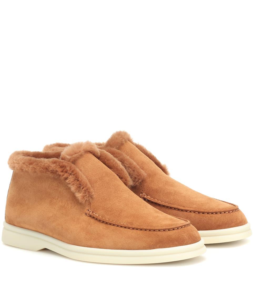 nrnbsp;p00403606 Walk Boots Loro Mit Shearling Open PianaAnkle Art 5qRLAj3c4S