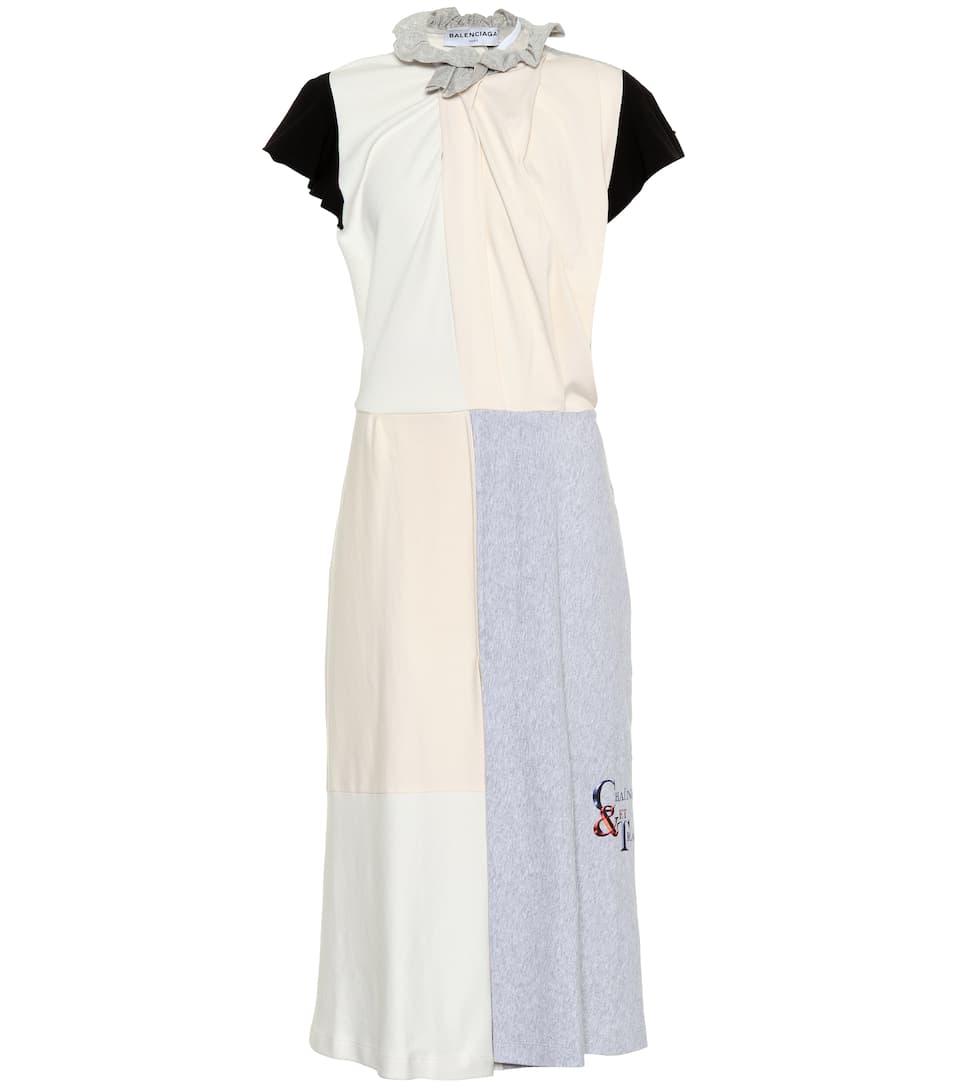 Balenciaga Midikleid Projextion aus Baumwolle