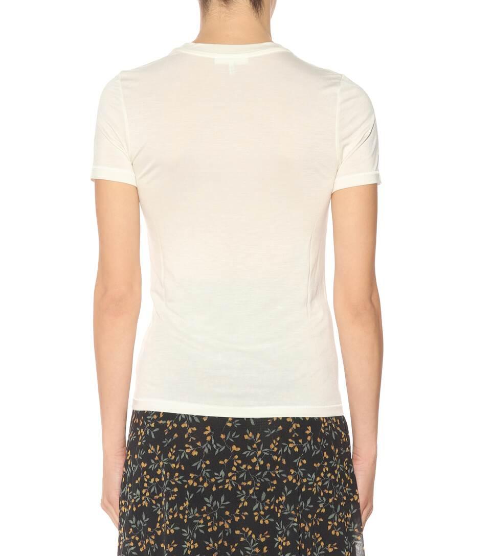 Ganni Bedrucktes T-Shirt
