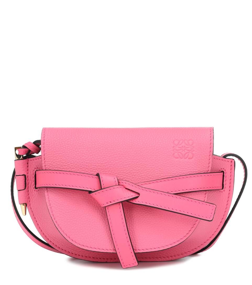 337683e7862e Gate Mini Leather Crossbody Bag - Loewe