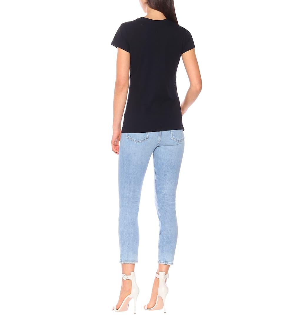 En N° VelvetT shirt Odelia Coton Artnbsp;p00261033 zpjUMqSLVG
