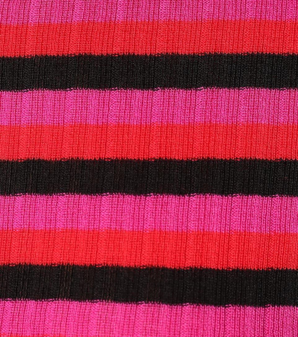 Philosophy Di Lorenzo Serafini Gestreifter Pullover aus Baumwolle