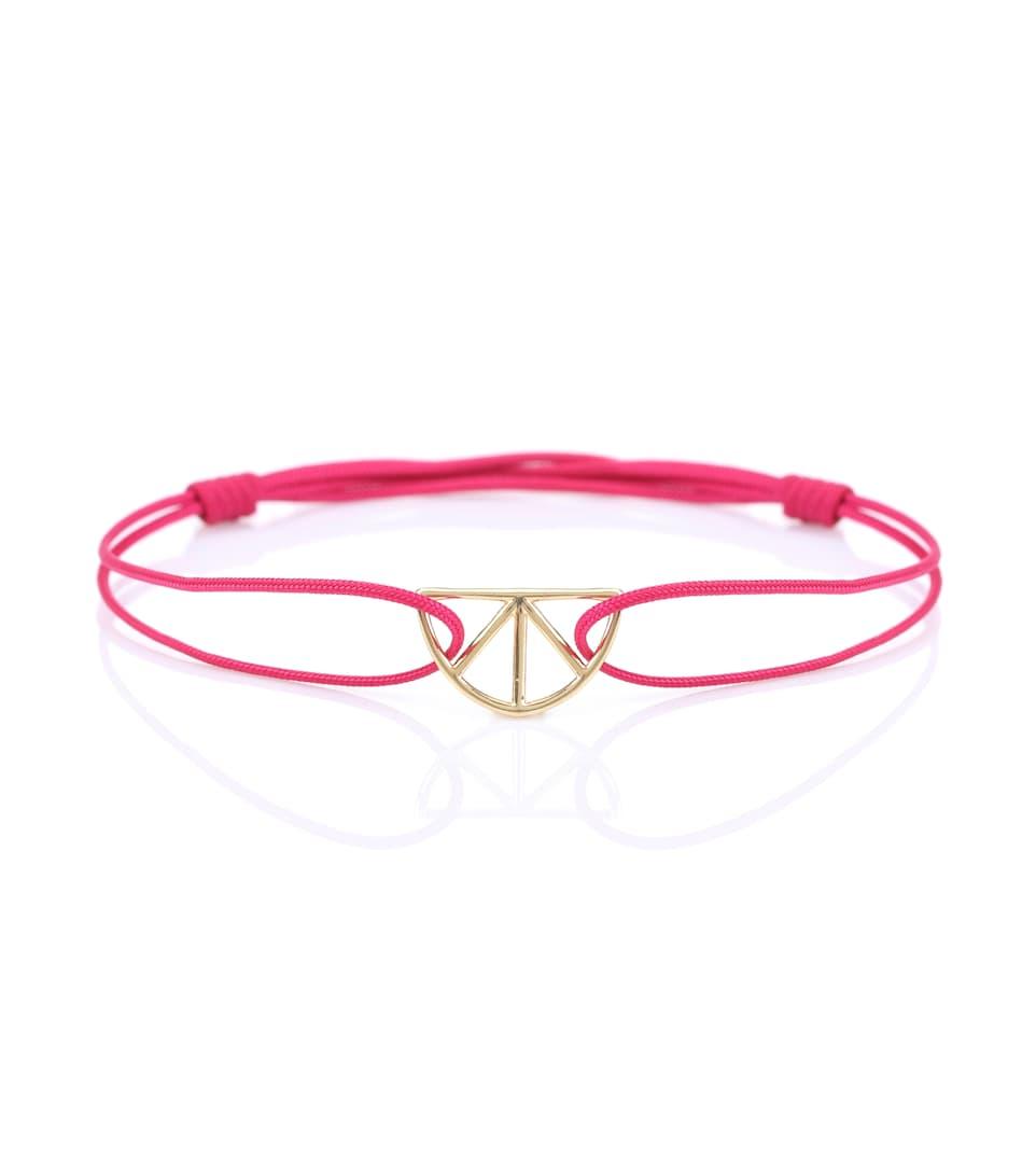 Aliita Corazon Puro 9kt gold cord bracelet QNSNoUJe