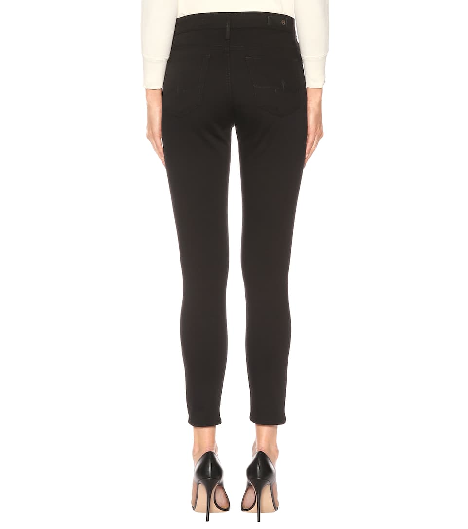 AG Jeans High-Rise Jeans The Farrah Skinny Ankle