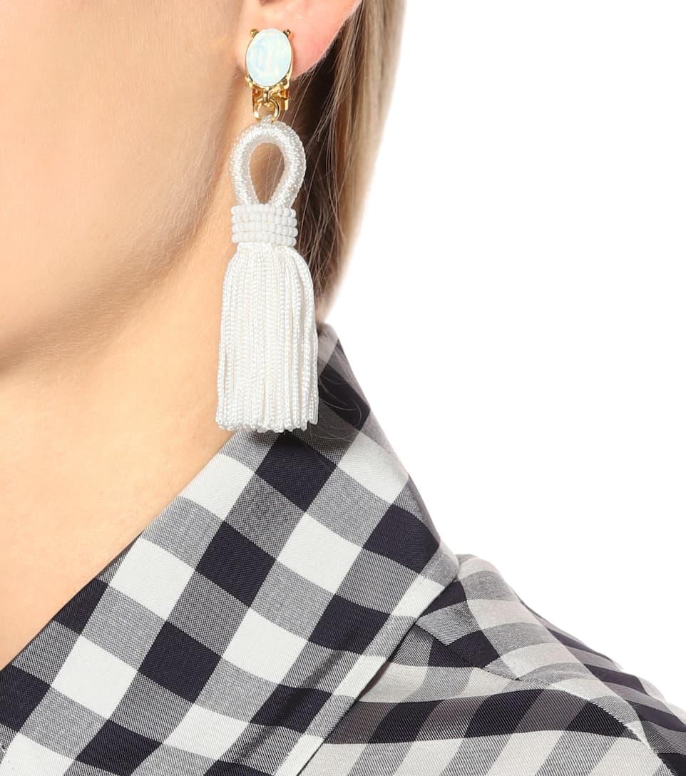 Clip-On Tassel Earrings Acheter À Bas Prix Sneakernews Vente Pas Cher Footlocker Finishline Prix professionnel Pas Cher À Prix Pas Cher II485uvR