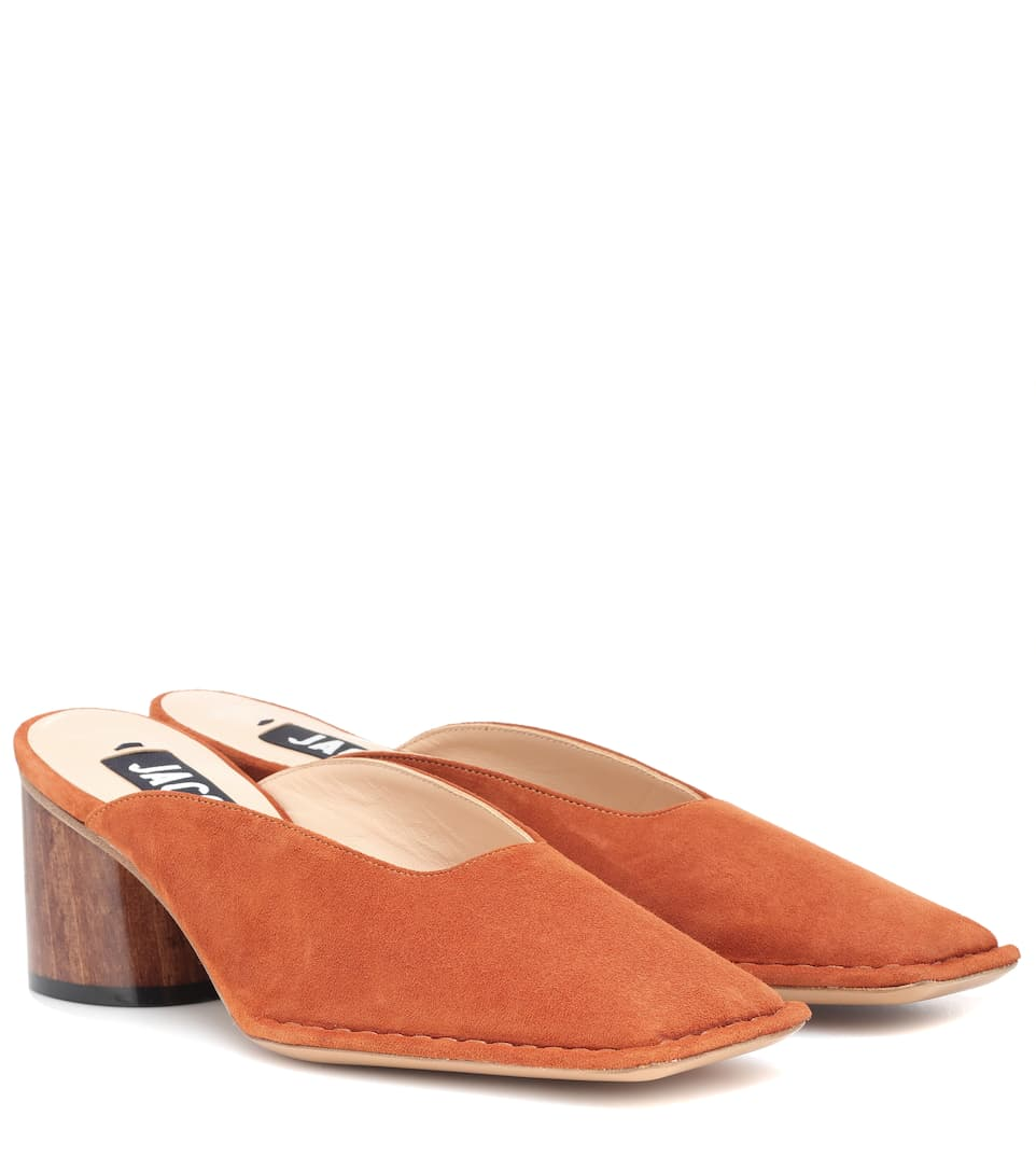 Les Mules Sabah Leather Mules by Jacquemus