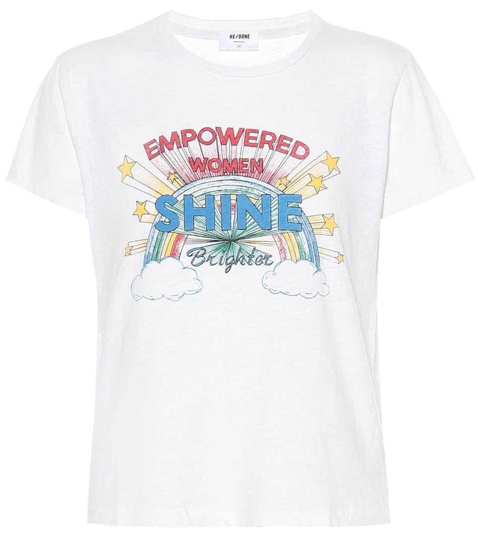 Re N° shirt Imprimé En Artnbsp;p00402299 Coton doneT 5L4AjR