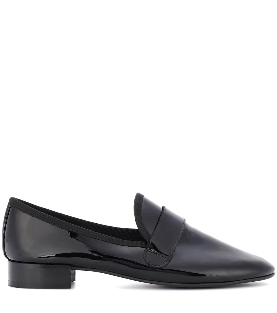 Repetto Loafers Maestro aus Lackleder