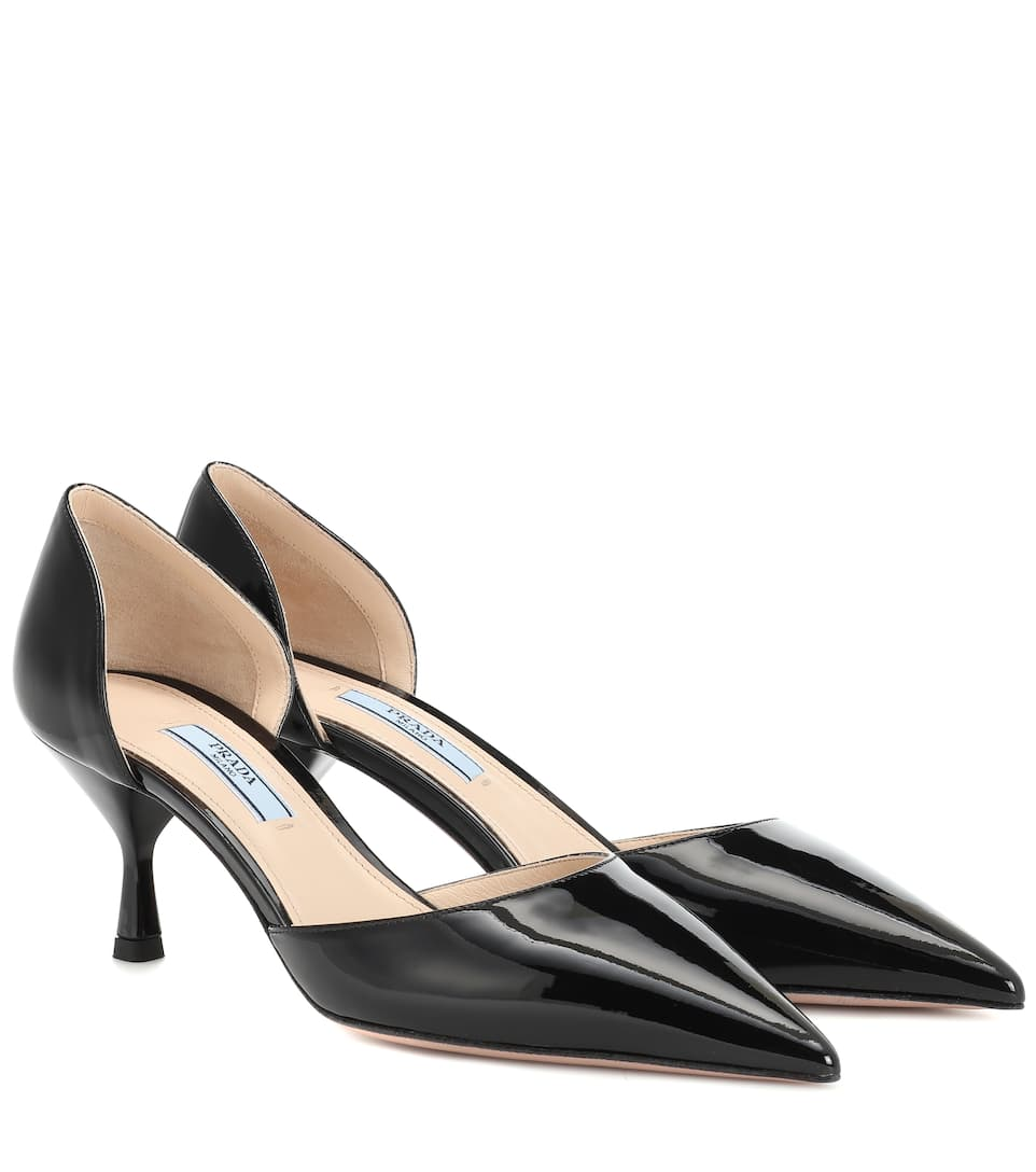 fc161fc7238 Prada - Patent leather pumps