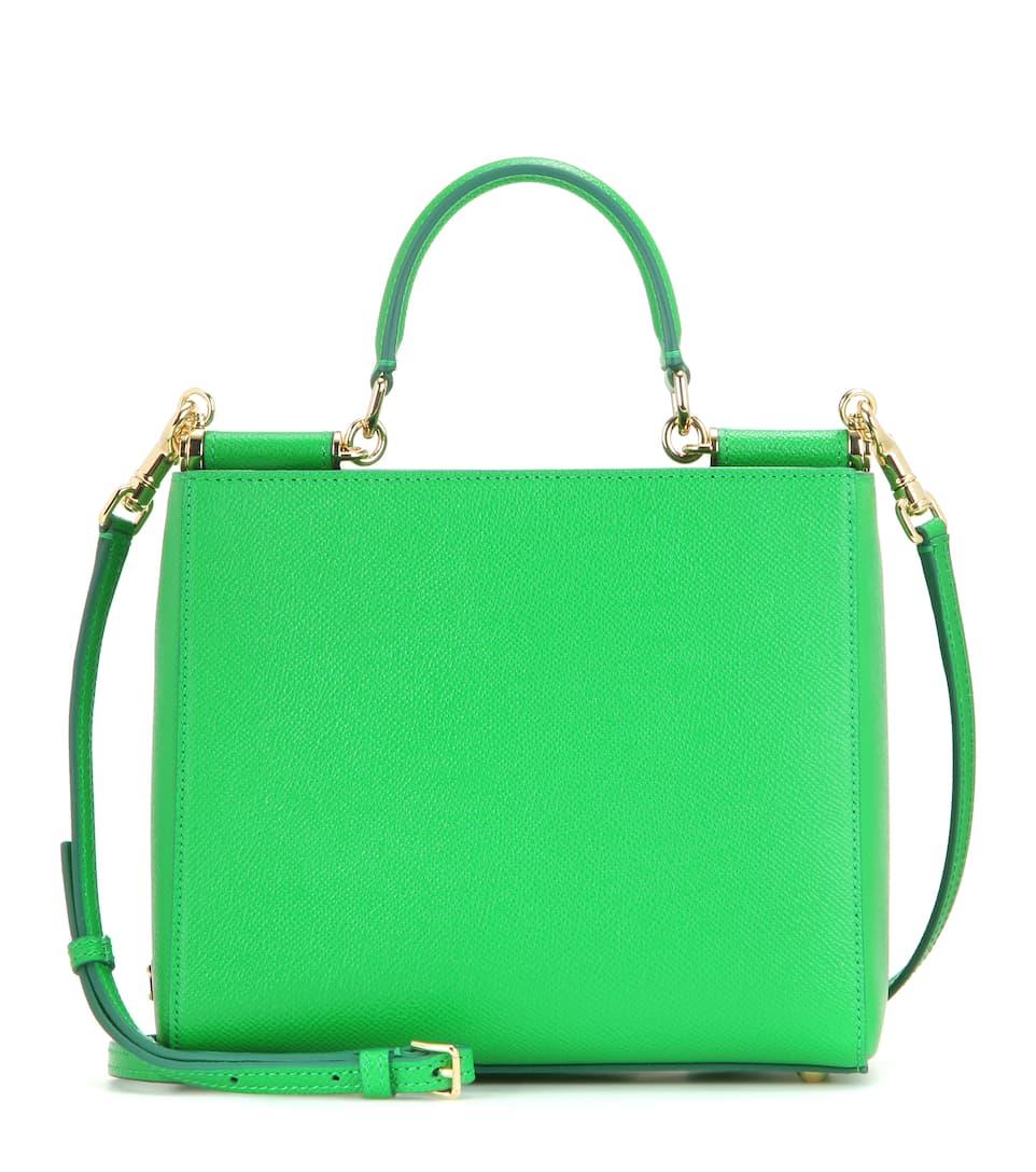 Dolce & Gabbana Small Sicily leather shoulder bag