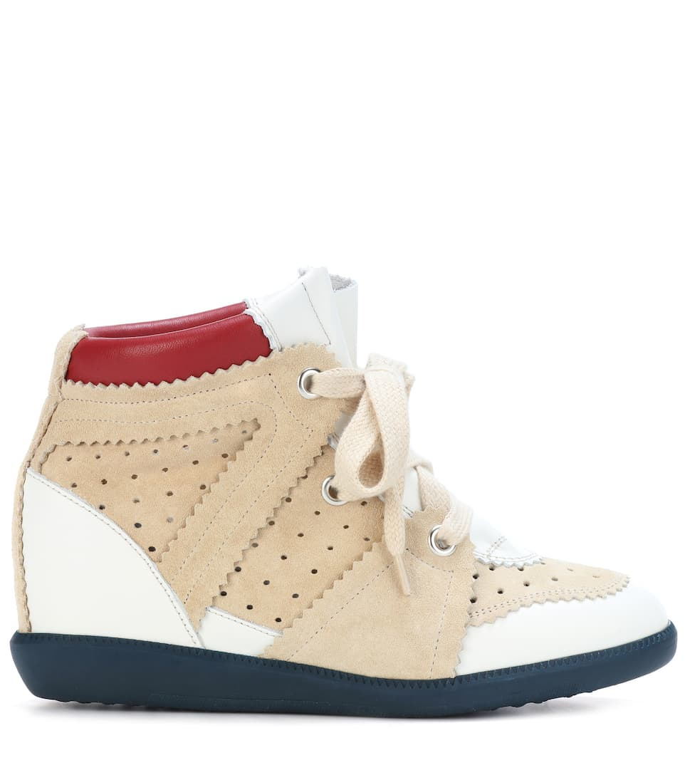 Isabel Marant Wedge Sneakers-betty From Suede