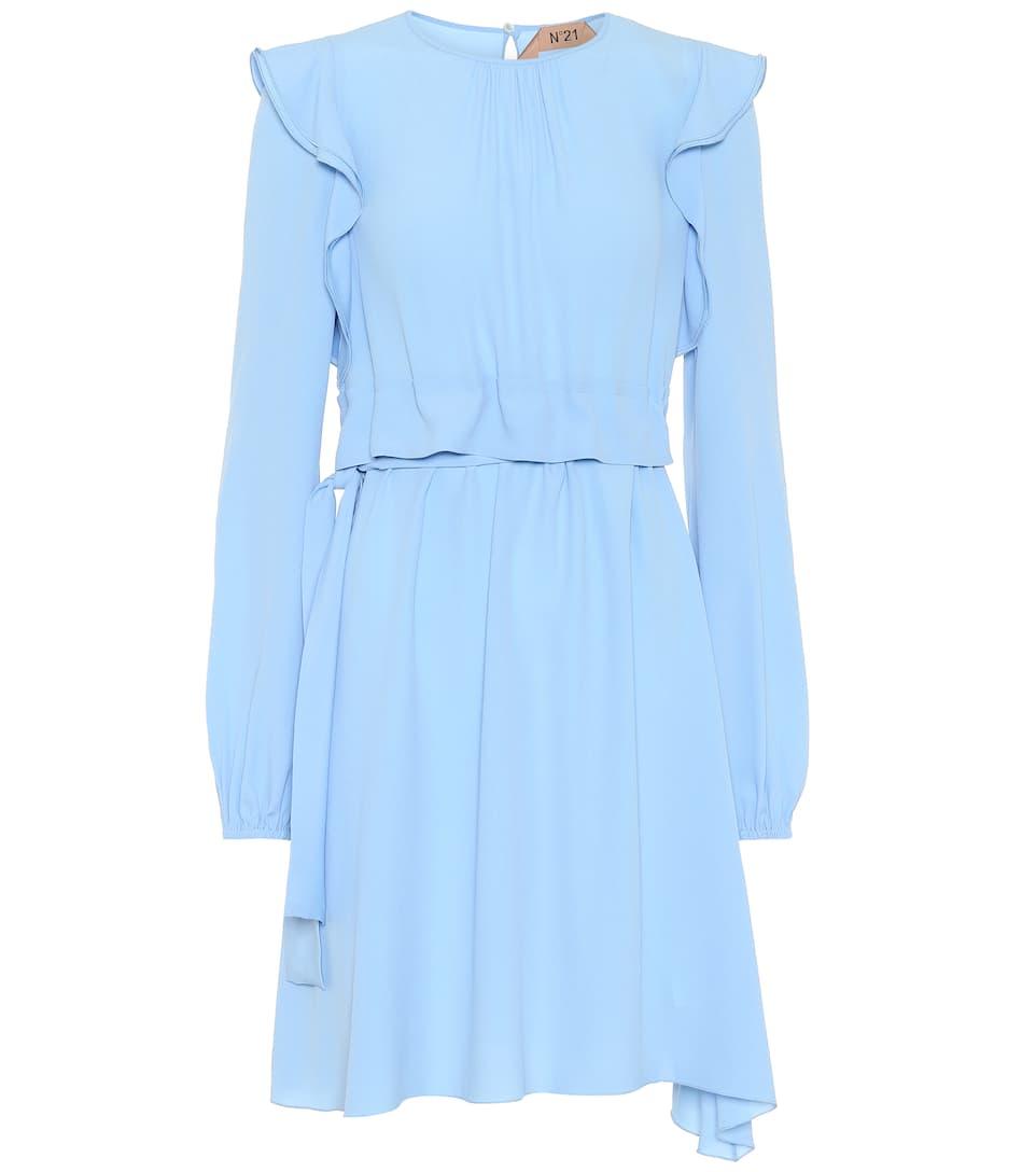 N°21 - Robe en soie mélangée à volants