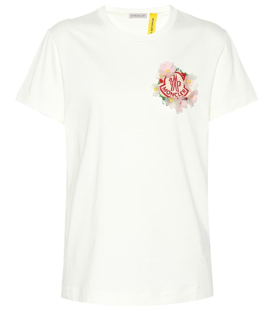 Genius Simone À 4 T Coton En Ornements Rocha Moncler Shirt zMpVSU
