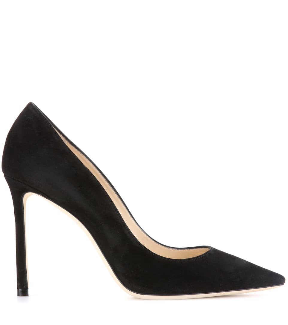 Jimmy Choo Pumps Romy 100 aus Veloursleder