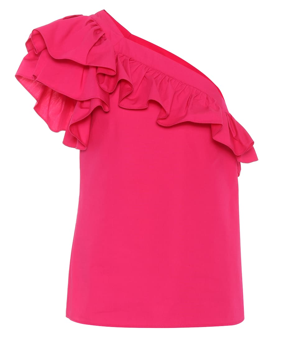 Philosophy Di Lorenzo Serafini One-Shoulder Top aus Baumwolle