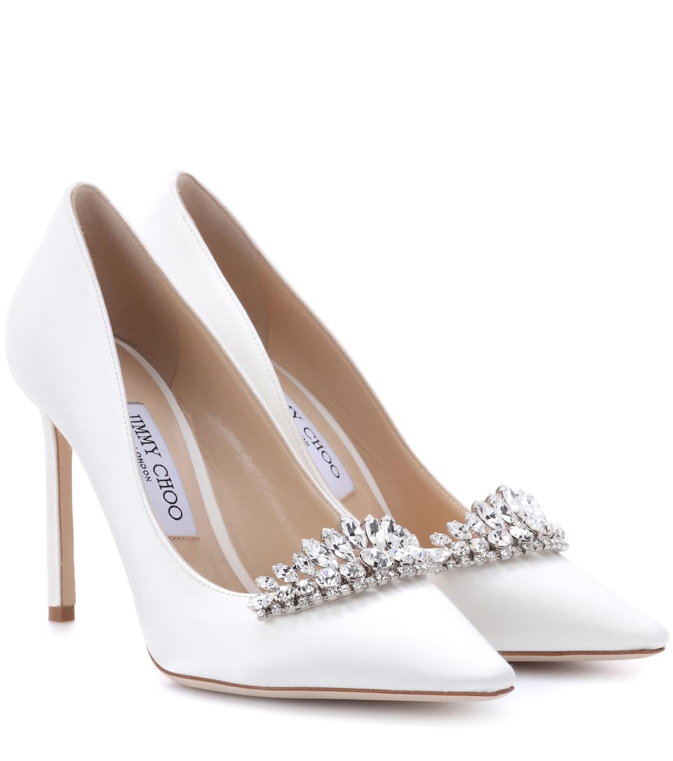 Jimmy Choo Pumps Romy 100 aus Satin
