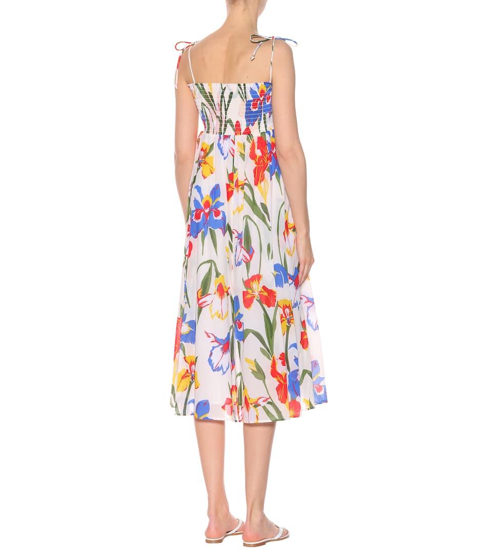 Tory Burch Dress Iris Of Cotton