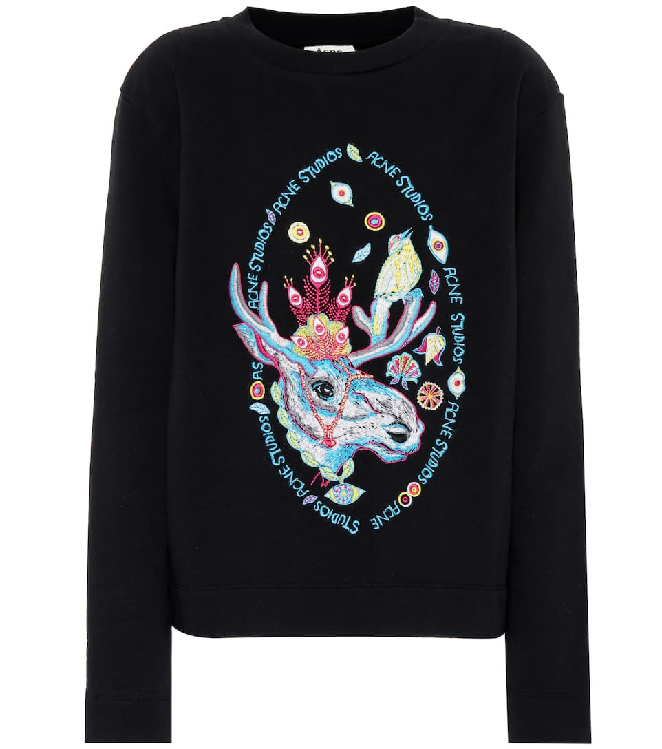 Oslavi Rave Moose Sweatshirt by Acne Studios